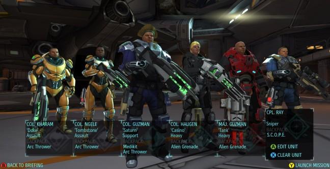 Xcom soldiers