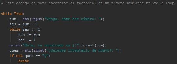Facto, facta… ¡Factoriales! #WSQ09