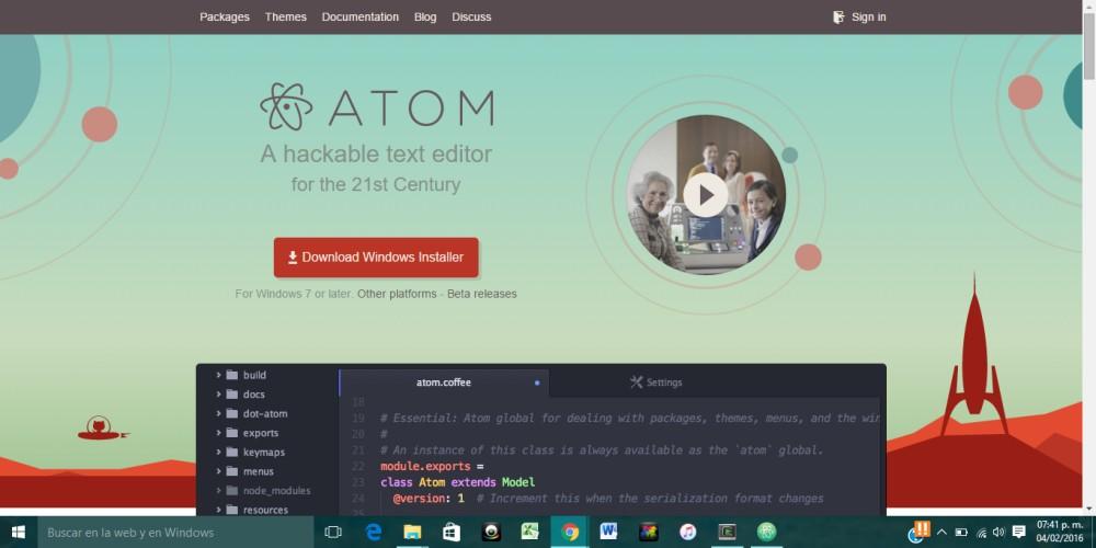 Atom - Install