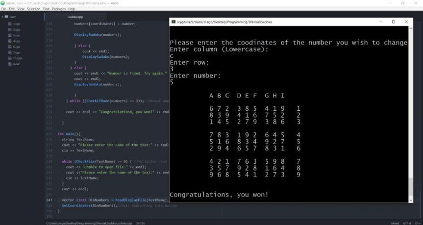 Final Project: Sudoku
