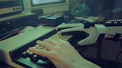 hacker glove