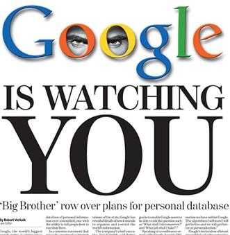Google sait tout de vous