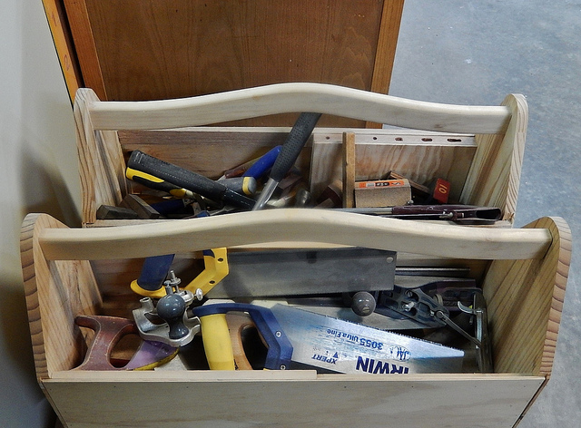 Picture of toolboxes