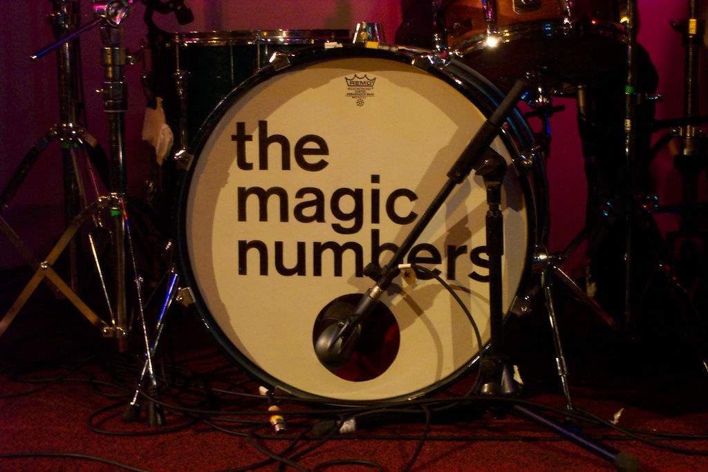 "<a title=""The Magic Numbers"" href=""https://flickr.com/photos/kenandpauline/5490820"">The Magic Numbers</a> flickr photo by <a href=""https://flickr.com/people/kenandpauline"">K & P</a> shared under a <a href=""https://creativecommons.org/licenses/by-nc-nd/2.0/"">Creative Commons (BY-NC-ND) license</a> </small>"
