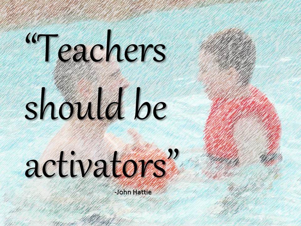 "<a title=""Powerpoint Slide:   ""Teachers should be activators"""" href=""https://flickr.com/photos/kenwhytock/8471566783"">Powerpoint Slide:   ""Teachers should be activators""</a> flickr photo by <a href=""https://flickr.com/people/kenwhytock"">Ken Whytock</a> shared under a <a href=""https://creativecommons.org/licenses/by-nc/2.0/"">Creative Commons (BY-NC) license</a> </small>"