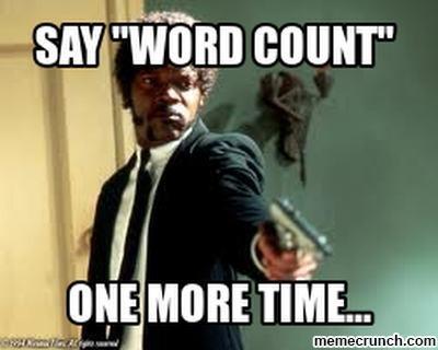 Word, word, word…