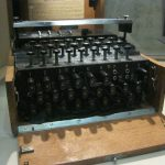 Image of a U-505 Enigma Machine